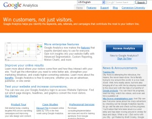 Go to Google Analytics
