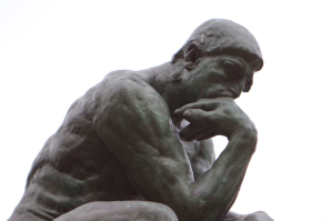 The Thinker - I'm sure he would have blogged, too.