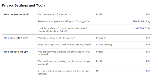 facebook-101-privacy-settings